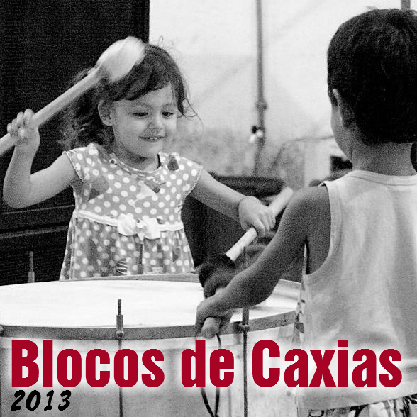 Capa do CD Blocos de Duque de Caxias 2013