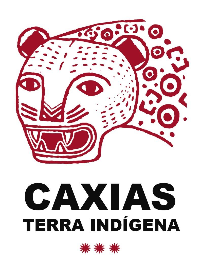 Caxias, terra indigena. arte de Denilson Baniwa