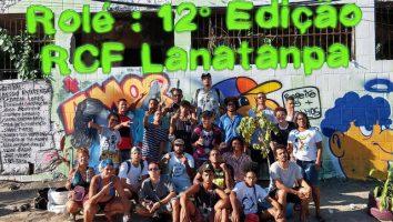 Bairro Pantanal recebe novas cores - Ação do RCF Lanatanpa