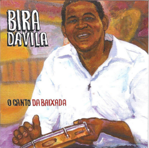 Capa do CD Canto da Baixada, de Bira da Vila
