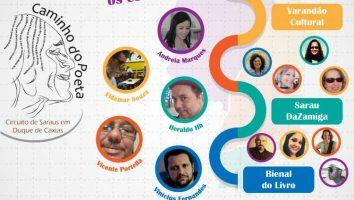 Circuito Caminho do Poeta estará na próxima Bienal do Livro - Poesia Duque de Caxias