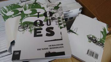 Dois Toques, livro de Heraldo HB e Ricardo Rodrigues
