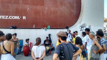 Capoeira e jongo nos domingos de Caxias
