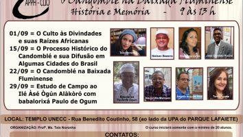 Curso Candomblé na Baixada Fluminense