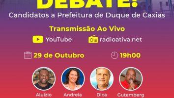 Debate entre candidatos a prefeitos em Duque de Caxias RJ