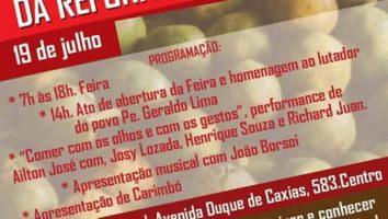 Feira Regional da Reforma Agrária em Duque de Caxias