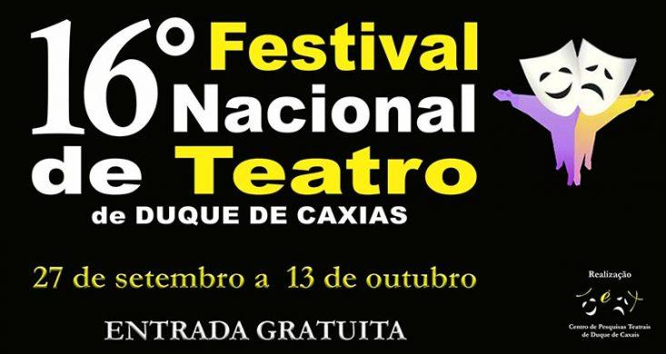 16º Festival Nacional de Teatro de Duque de Caxias