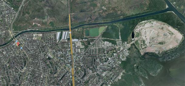 Mapa Lixão de Gramacho