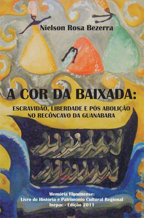 livro A Cor Da Baixada Nielson Rosa Bezerra