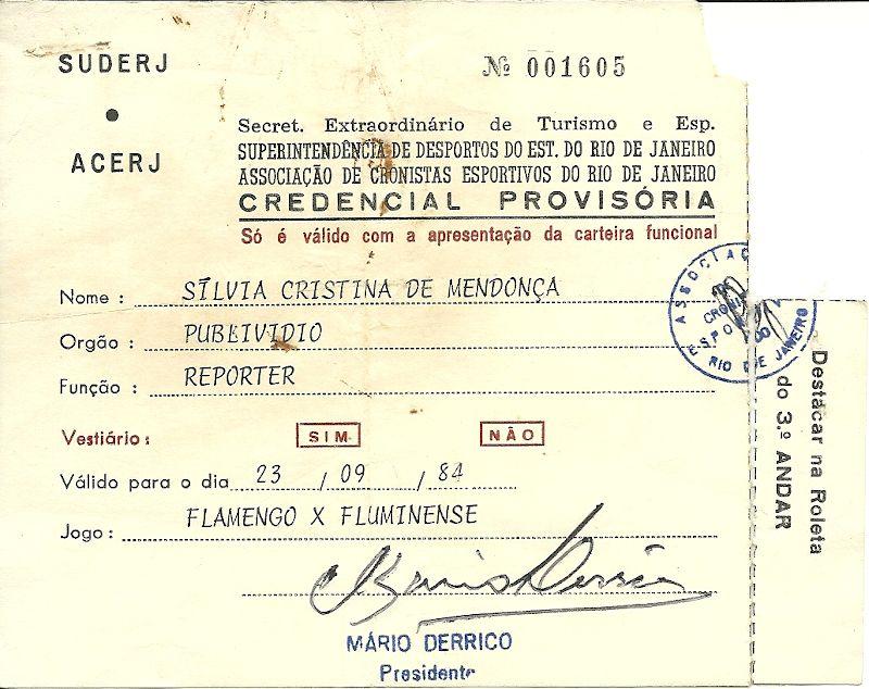 Maracanã 70 anos: o Fla X Flu das Diretas – 1984