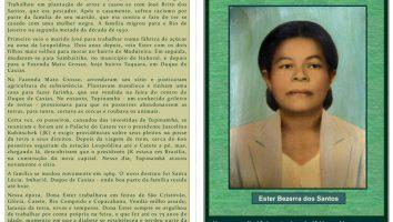 Projeto Memória Social de Imbariê Dona Ester