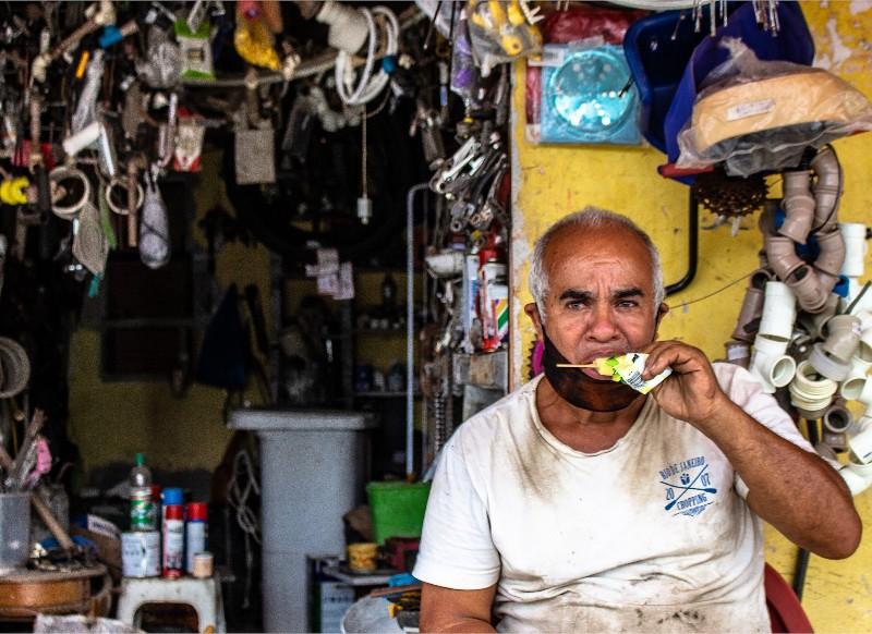 Mineiro - quarentena no São Bento, Duque de Caxias, RJ