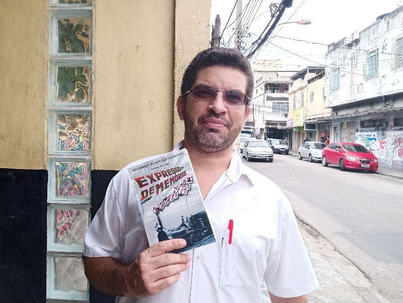 Reizinho Alvarenga lança seu livro Expresso de Memórias