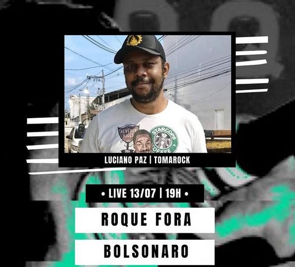 Roque Fora Bolsonaro